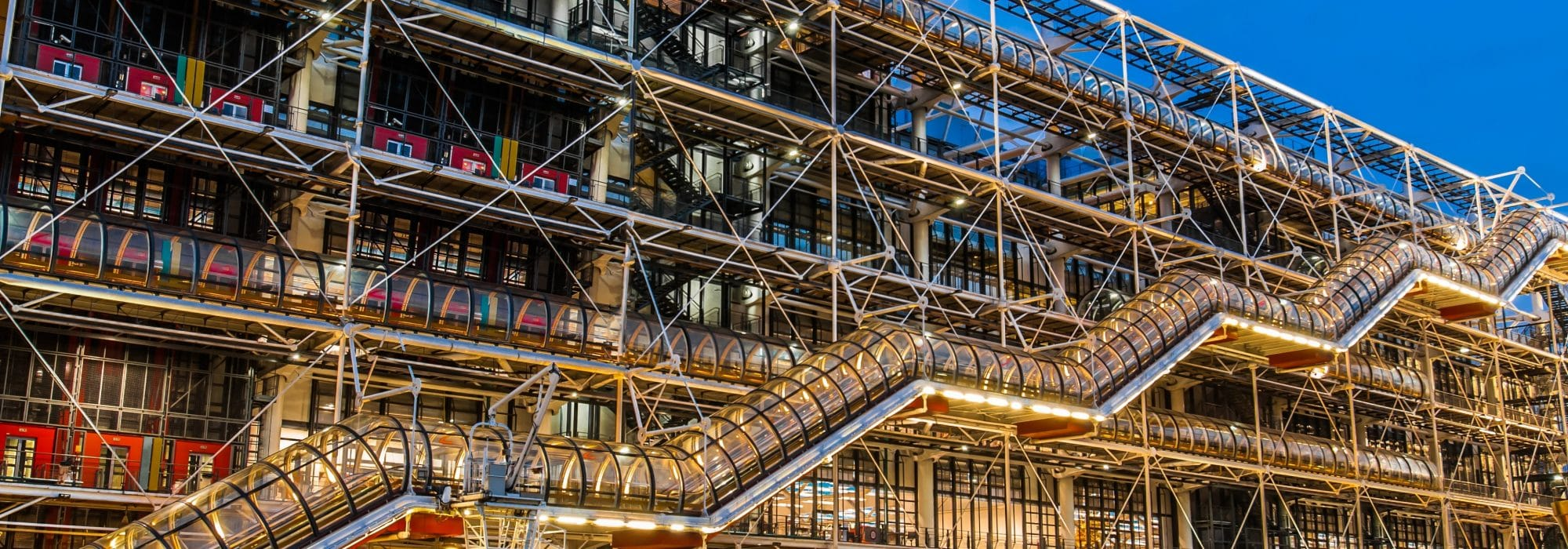Photo du centre Pompidou à Paris pour représenter IXIS Paris