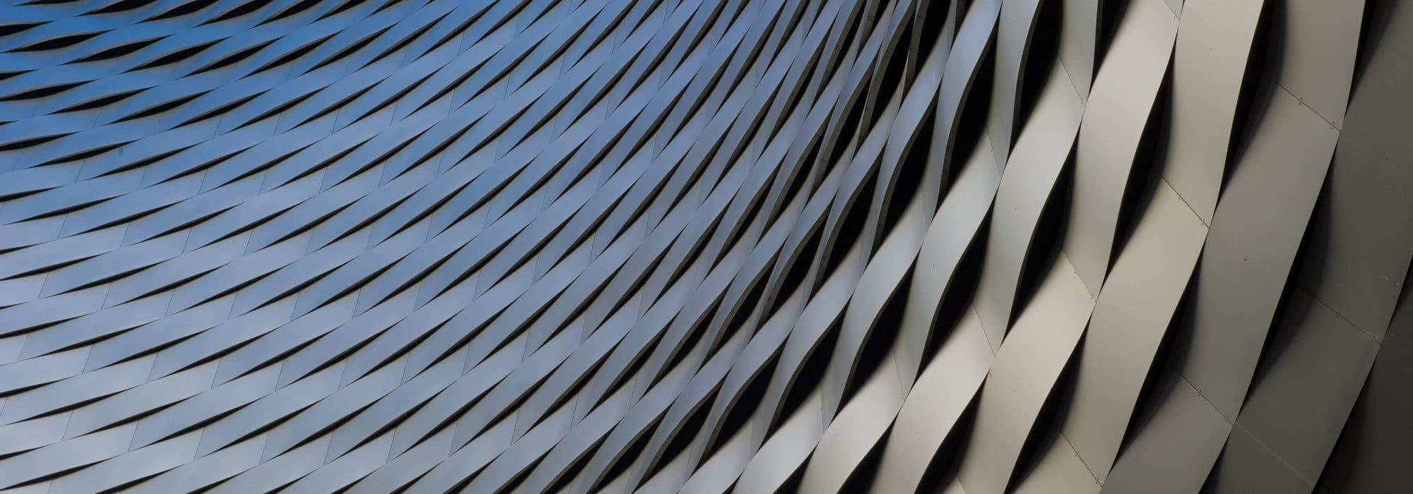 Visuel graphique arrondi noir utilisé par IXIS